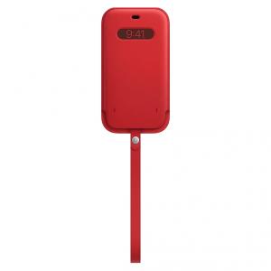 Apple Skórzany futerał z MagSafe do iPhone'a 12 mini - (PRODUCT)RED