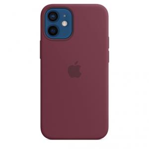 Apple Silikonowe etui z MagSafe do iPhone'a 12 mini - dojrzała śliwka
