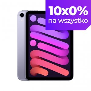 Apple iPad mini 6 8,3 64GB Wi-Fi + Cellular (5G) Fioletowy (Purple)
