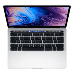 MacBook Pro 13 Retina Touch Bar i5 1,4GHz / 16GB / 1TB SSD / Iris Plus Graphics 645 / macOS / Silver (2019)