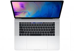 MacBook Pro 15 Retina True Tone i7-8750H / 16GB / 256GB SSD / Radeon Pro 560X / macOS / Silver