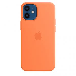 Apple Silikonowe etui z MagSafe do iPhone'a 12 / 12 Pro – kumkwat