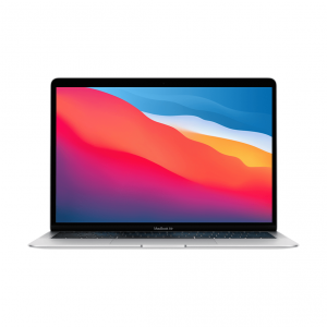 MacBook Air z Procesorem Apple M1 - 8-core CPU + 7-core GPU /  16GB RAM / 256GB SSD / 2 x Thunderbolt / Silver