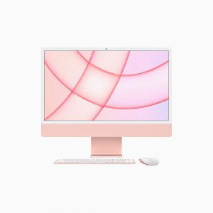 Apple iMac 24 4,5K Retina M1 8-core CPU + 7-core GPU / 8GB / 256GB SSD / Różowy (Pink) - 2021