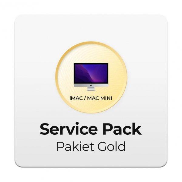 Service Pack - Pakiet Gold 2Y do Apple iMac i Mac mini