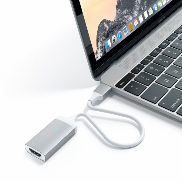 Satechi USB-C do HDMI 4K 60Hz Adapter Silver