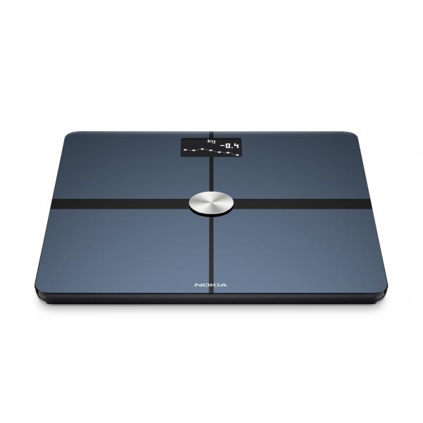NOKIA Body+ waga Wi-Fi z pełną analizą składu masy ciała Biała Android iOS
