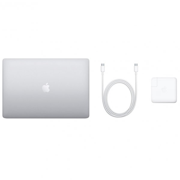 MacBook Pro 16 Retina Touch Bar i9-9980HK / 64GB / 4TB SSD / Radeon Pro 5300M 4GB / macOS / Silver (srebrny)