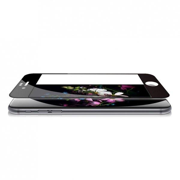 KMP Szkło ochronne iPhone 7 Plus Czarny