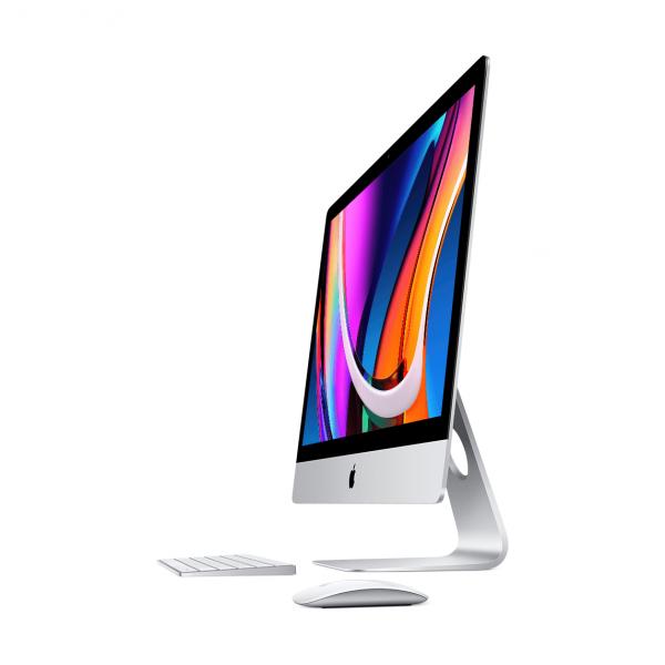 iMac 27 Retina 5K / i7 3,8GHz / 8GB / 512GB SSD / Radeon Pro 5500 XT 8GB / Gigabit Ethernet / macOS / Silver (srebrny) MXWV2ZE/A - nowy model