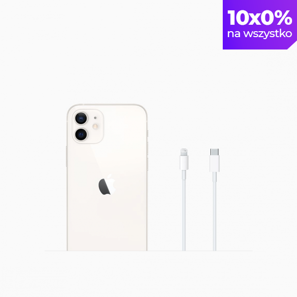 Apple iPhone 12 64GB White (biały)
