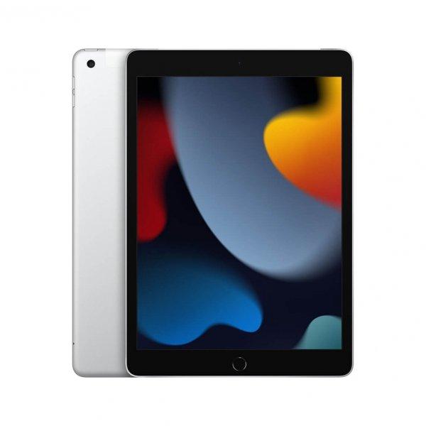 """Apple iPad 9-generacji 10,2"""" 64GB Wi-Fi + Cellular (LTE) Srebrny (Silver)"""