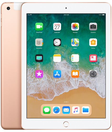 iPad 6-gen 9,7 128GB LTE + Wi-Fi Gold