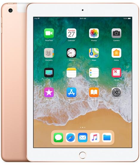 Nowy iPad 9,7 128GB LTE + Wi-Fi Gold