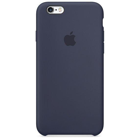 Apple Silicon Case Etui do iPhone 6/6s Midnight Blue (nocny błękit)