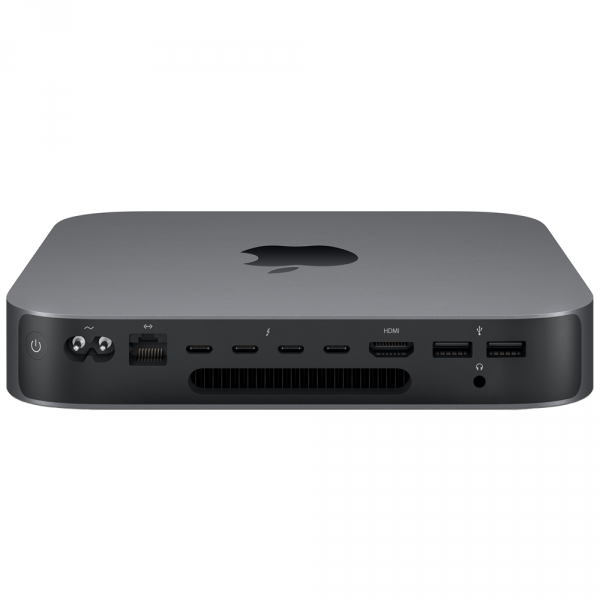 Mac mini i3-8100 / 64GB / 128GB SSD / UHD Graphics 630 / macOS / 10-Gigabit Ethernet / Space Gray