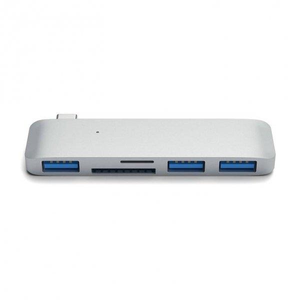 Satechi 3-in-1 USB-C HUB - USB 3.0 / SD / microSD Silver