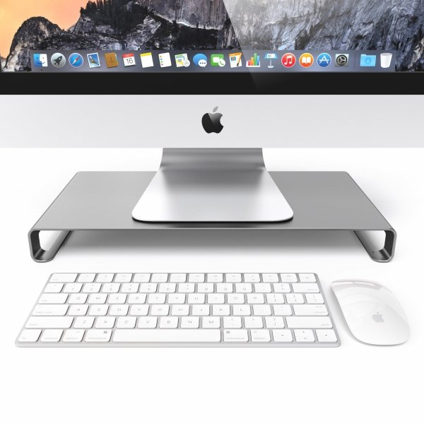 Satechi Aluminium iMac & Monitor Stand Space Gray
