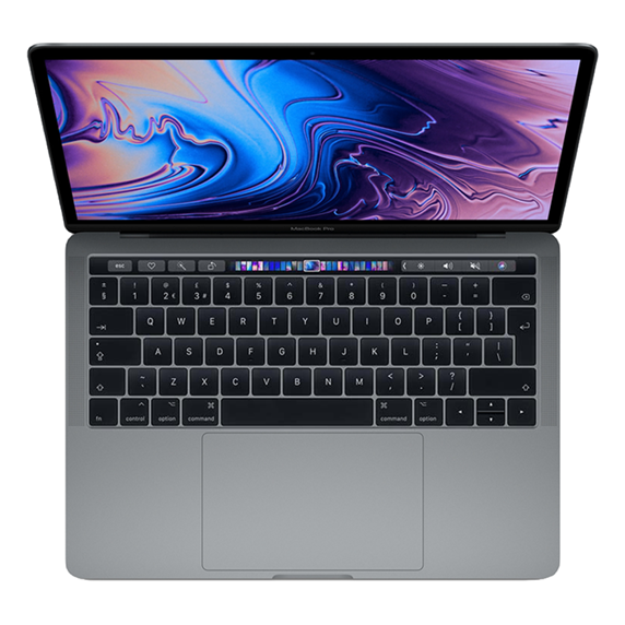MacBook Pro 13 Retina Touch Bar i7 2,8GHz / 8GB / 2TB SSD / Iris Plus Graphics 655/ macOS / Space Gray (2019)