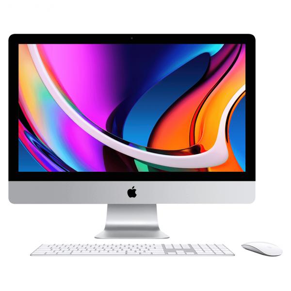 iMac 27 Retina 5K / i7 3,8GHz / 16GB / 512GB SSD / Radeon Pro 5500 XT 8GB / Gigabit Ethernet / macOS / Silver (srebrny) MXWV2ZE/A/16GB - nowy model