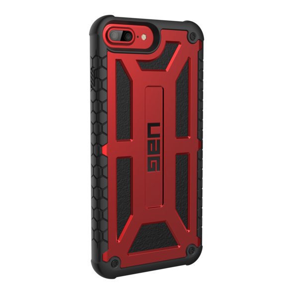 UAG Monarch - obudowa ochronna do iPhone 6s/7/8 Plus (czerwona)