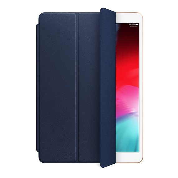 Apple Leather Smart Cover do iPad Air 10,5 / iPad Pro 10,5 Midnight Blue (nocny błękit)