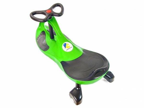 Pojazd dziecięcy TwistCar - jeździk dla dzieci + świecące kółka