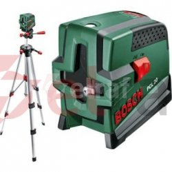 Laser krzyżowy z funkcją pionu PCL 20 set 10m 0603008221
