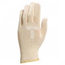 Rękawica dziana z bawełny oburęczna ecru rozmiar 9 TT460 TT46009