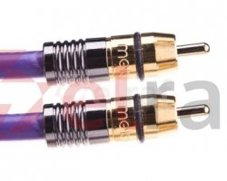 Kabel do subwoofera Purple Rain RCA-RCA 10m MDSW100