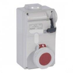 Zestaw zasilający z rozłącznikiem 16A 4P 400V IP55 P17 TEMPRA  056625