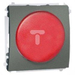 Simon Classic Sygnalizator świetlny LED – światło czerwone 230V grafitowy MSS/2.01/25 WMCS-020x2x-G013