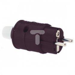 Wtyczka jednofazowa 16A 3p 250V IP44 7306