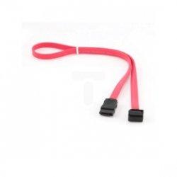 Kabel SATA DATA III (6GB/S) 50cm prosty/kątowy czerwony CC-SATA-DATA90