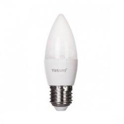 Żarówka LED E27 6W (C37) 510lm 3000K 220-240V YASSNO YB-02-038