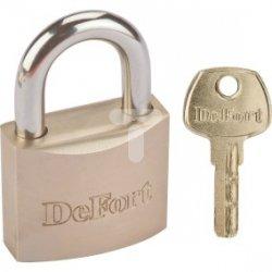 Kłódka mosiężna 60 mm, 3 klucze 90U312