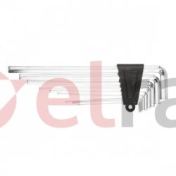 Klucze sześciokątne 1.5-10 mm (extra długie) zestaw 9 elementów 35D052