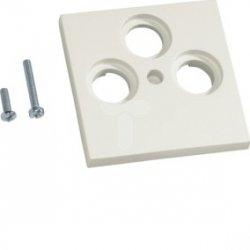 Płytka centralna BK/Sat 3-krotna ABS bezhalogenowe (HFR) krem GZSAT39001