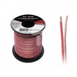 Przewód głośnikowy CU 2x1,5 OFC elastyczny 73-245# /25m/