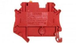 Złączka przelotowa 2-przewodowa z odłącznikiem nożowym 4mm2 czerwona UT 4-MT RD 3046279 /50szt./