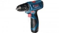 Wiertarko-wkrętarka akumulatorowa 12V Li-Ion 2x1,5Ah GSR 120-LI 06019F7001