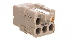 Wkład złącza 5P+PE żeński 16A 230/400V EPIC H-Q 5 BC 10432500