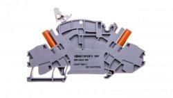 Złączka rozłączalno-pomiarowa 2-przewodowa 10mm2 do przekładników napięciowych szara 2007-8811
