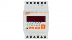 Woltomierz trójfazowy cyfrowy modułowy 15-660V DMK70R1