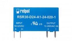 Przekaźnik półprzewodnikowy jednofazowy 2A 18-32V DC RSR30-D24-A1-24-020-1 2611990