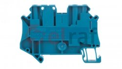 Złączka szynowa rozłączalna 3-przewodowa 4mm2 niebieska UT 4-TWIN-TG BU 3073034 /50szt./