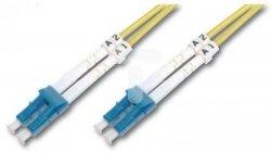 Patch cord światłowodowy LC/LC duplex SM 9/125 OS2 3m LS0H żółty DK-2933-03