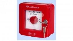 Wyłącznik alarmowy z zamkiem 2Z 2R 12A /WYŁĄCZNK GŁÓWNY/ IP55 WGZ-4s 921493