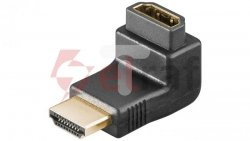 Adapter kątowy HDMI - HDMI 68782