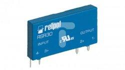 Przekaźnik półprzewodnikowy 1-polowy do druku 4A 24V DC wejście 3-10V DC RSR30-D05-D1-02-040-1 2611995
